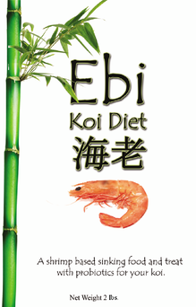 Ebi Shrimp Based Koi Food